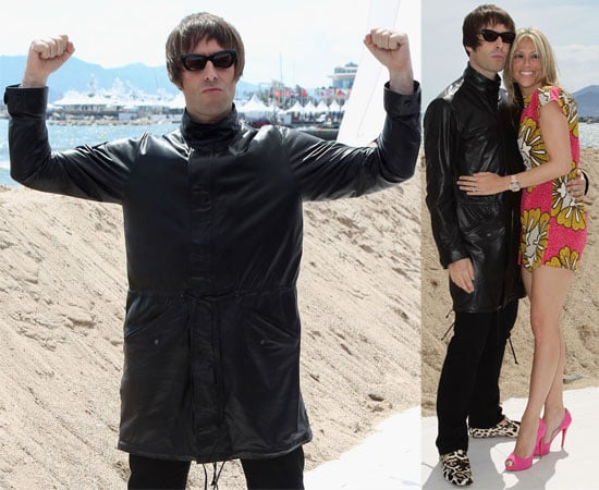 Pictures of Liam Gallagher and Nicole Appleton at Cannes He Has Announced Plans to Make a Film About The Beatles