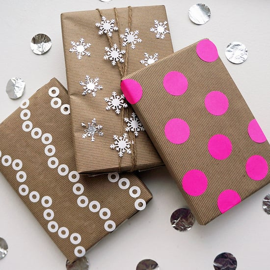 Recycled Wrapping Paper DIY
