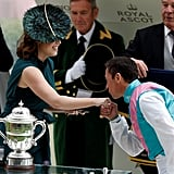 Princess Eugenie With Frankie Dettori