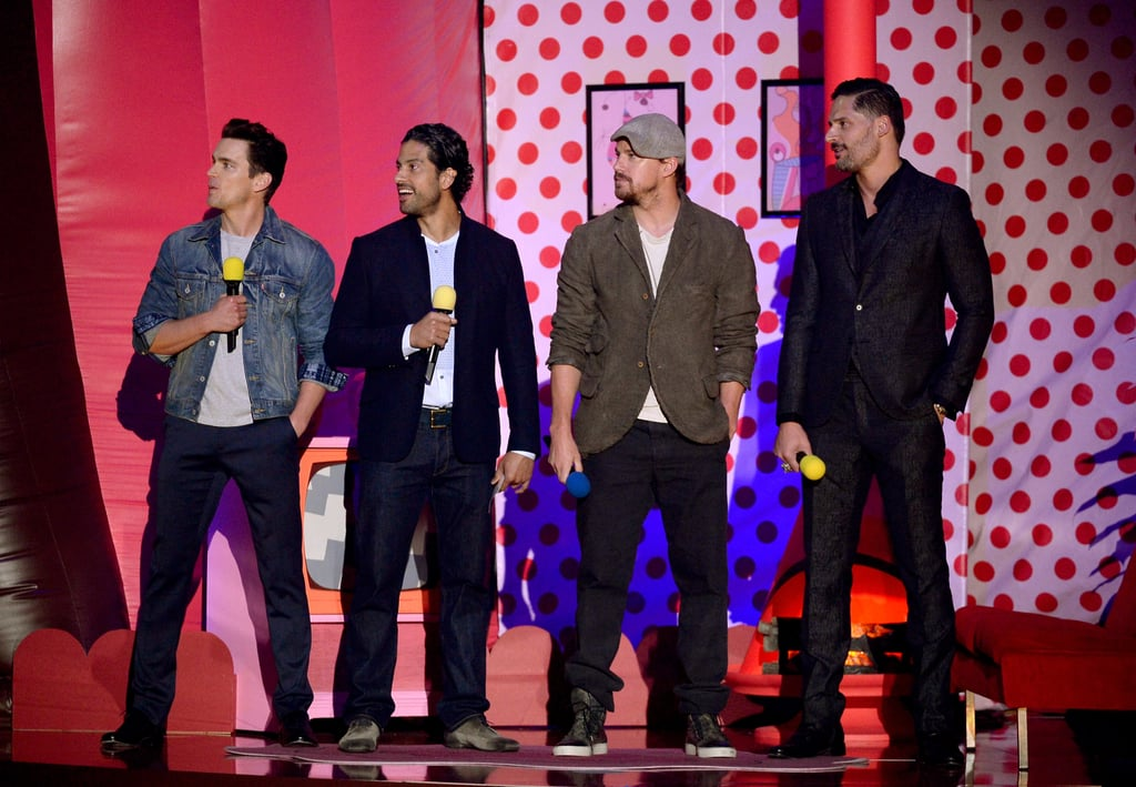 Watch Channing Tatum's Mesmerising MTV Movie Awards Booty Moment Again . . . and Again