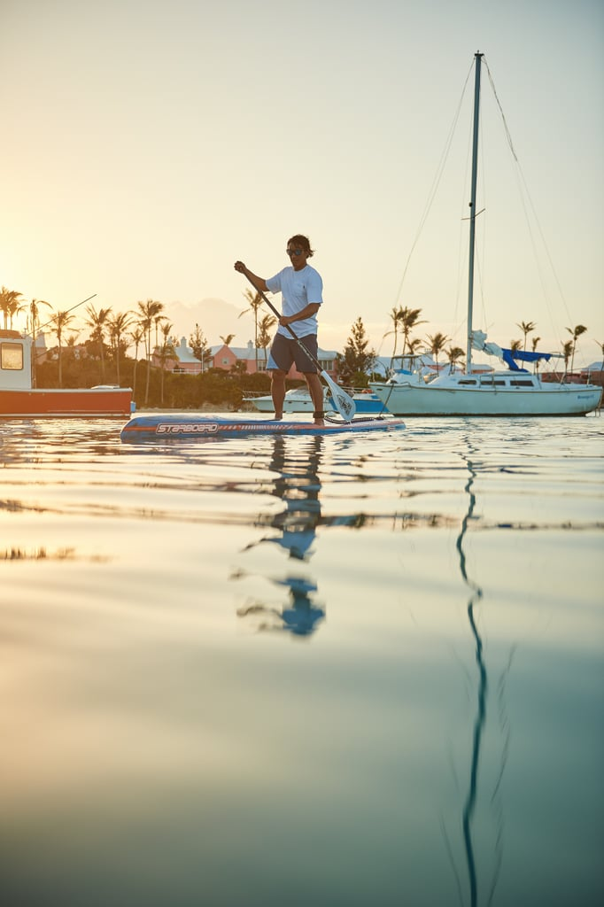 You'll Find Yourself Paddleboarding Instead of Hitting the Gym