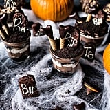 Deadly Chocolate Graveyard Cakes