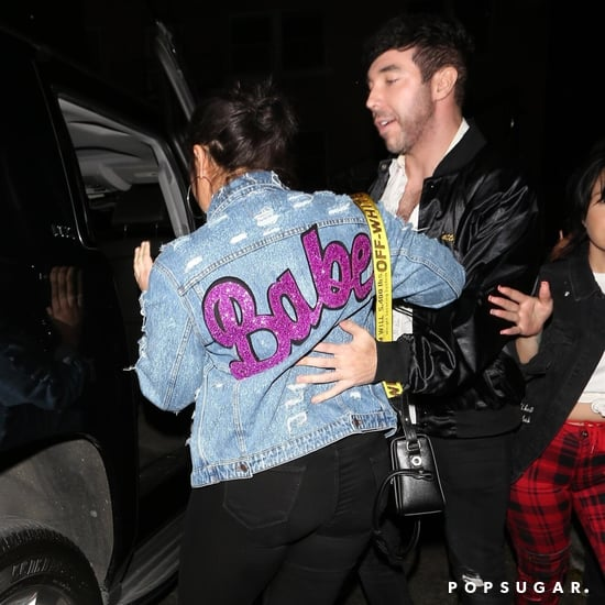 Demi Lovato Babe Denim Jacket