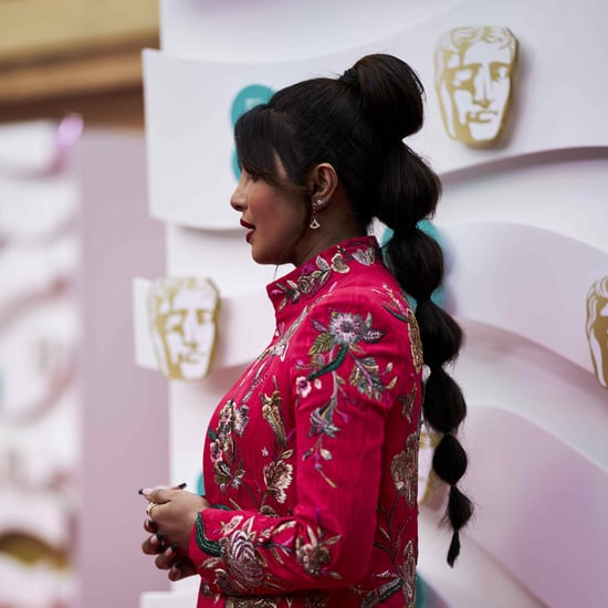 Priyanka Chopra's Bubble Braid Hairstyle at the BAFTA Awards