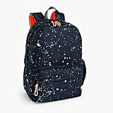 J.Crew Splatter-Print Backpack