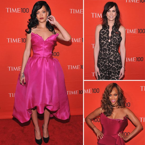Rihanna, Kristen Wiig, Tyra Banks and more Get Glam for Time Magazine's 100 Most Influential People Gala