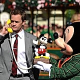 Actor and magician Neil Patrick Harris took a special call at the most magical place on Earth for Disney's Christmas Day parade TV special.