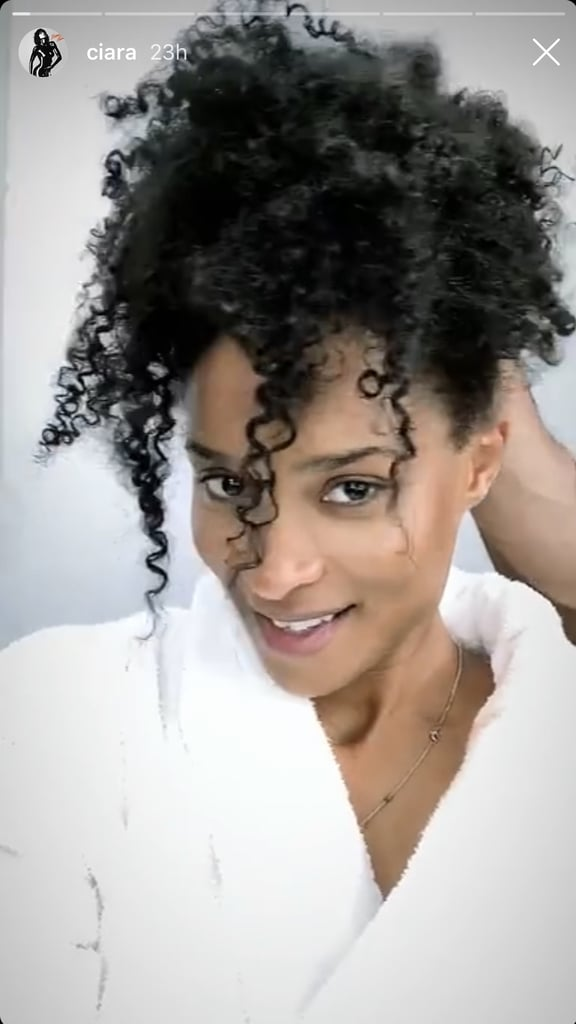 Ciara With Her Natural Hair