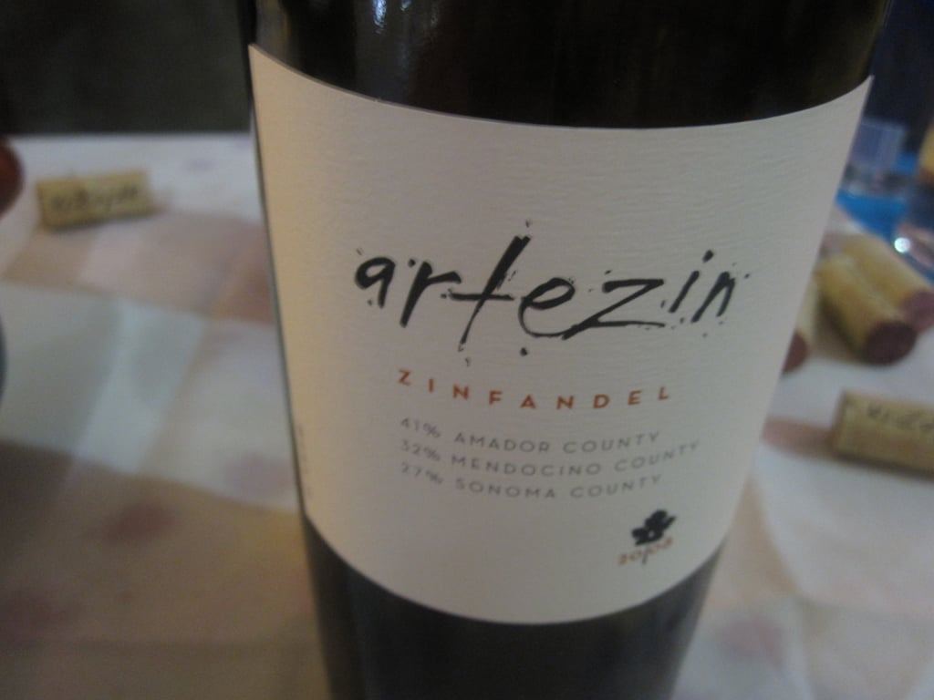 The boar slider was paired with Artezin. The meaty boar was a perfect match for this luscious Zin. It was like a party in my mouth.