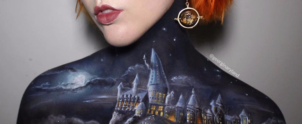 Hogwarts Body Paint