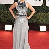 Mila Kunis at the Golden Globes 2014
