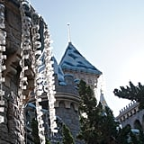 The way the icicles hanging from Sleeping Beauty's castle catch the sunlight is stunning.