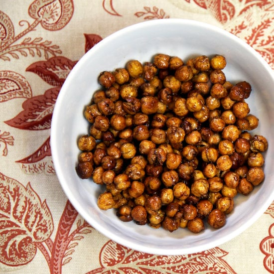 Crunchy: Roasted Honey Cinnamon Chickpeas