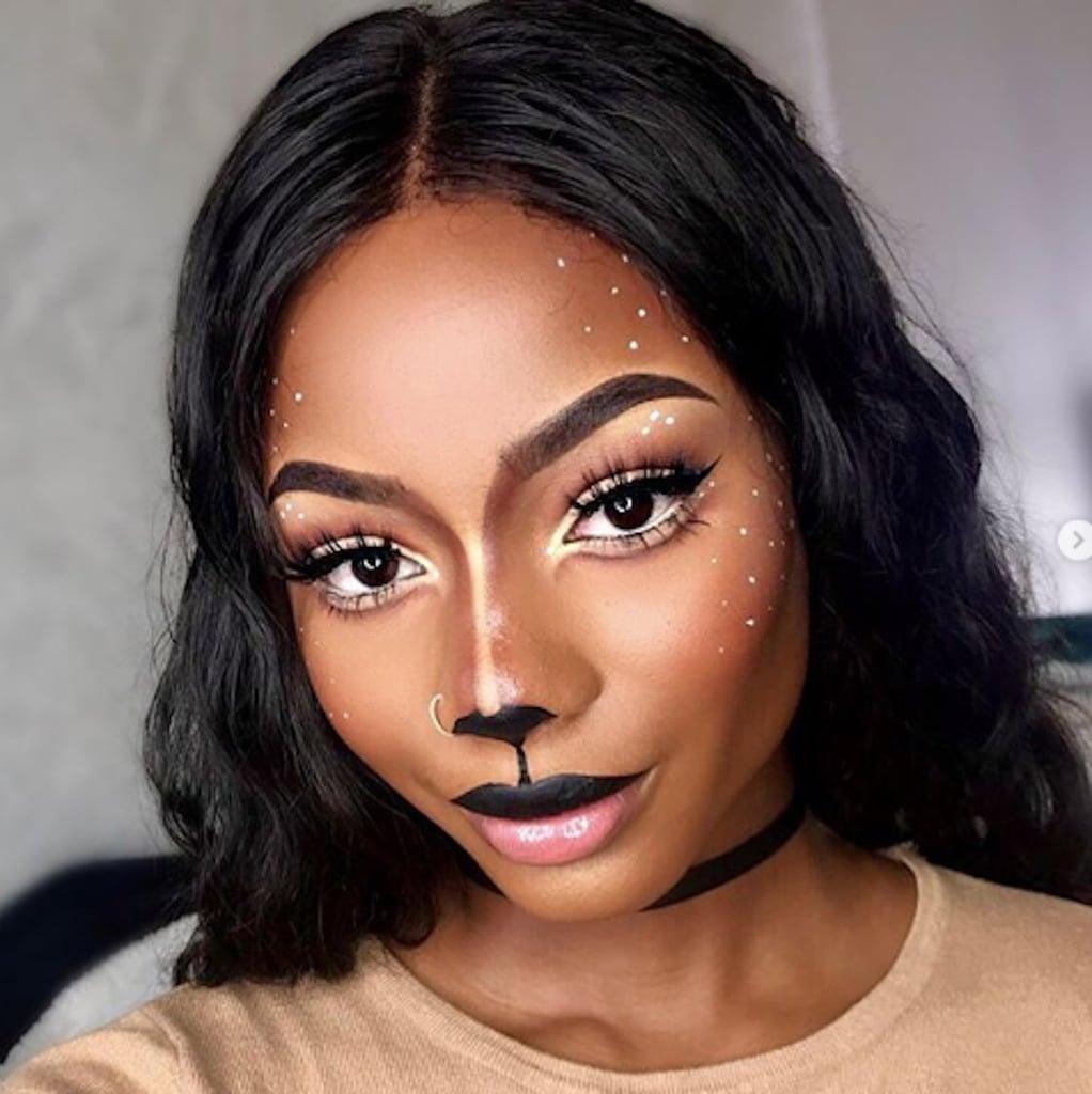 pretty halloween makeup | popsugar beauty