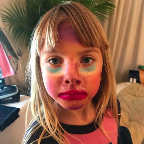 Pink's Daughter Wears Unicorn Makeup