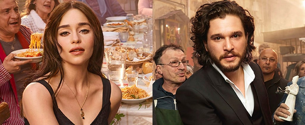 Emilia Clarke and Kit Harington Both Star in D&G's New Fragrance Campaign and Oh My God