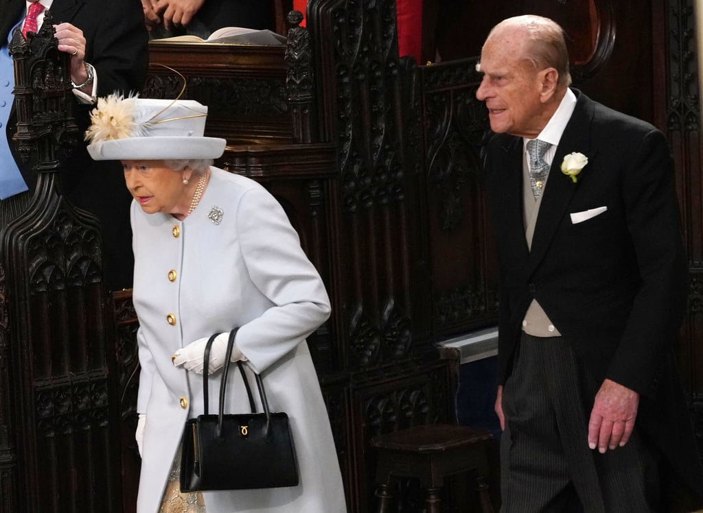 Queen Elizabeth II and Prince Philip in 2018