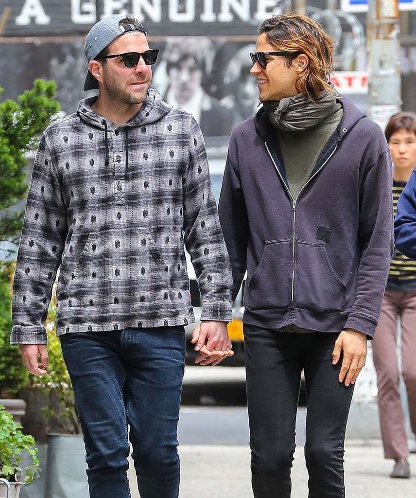 Zachary Quinto and Miles McMillan Holding Hands in NYC