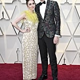 Annamarie Tendler and John Mulaney at the 2019 Oscars