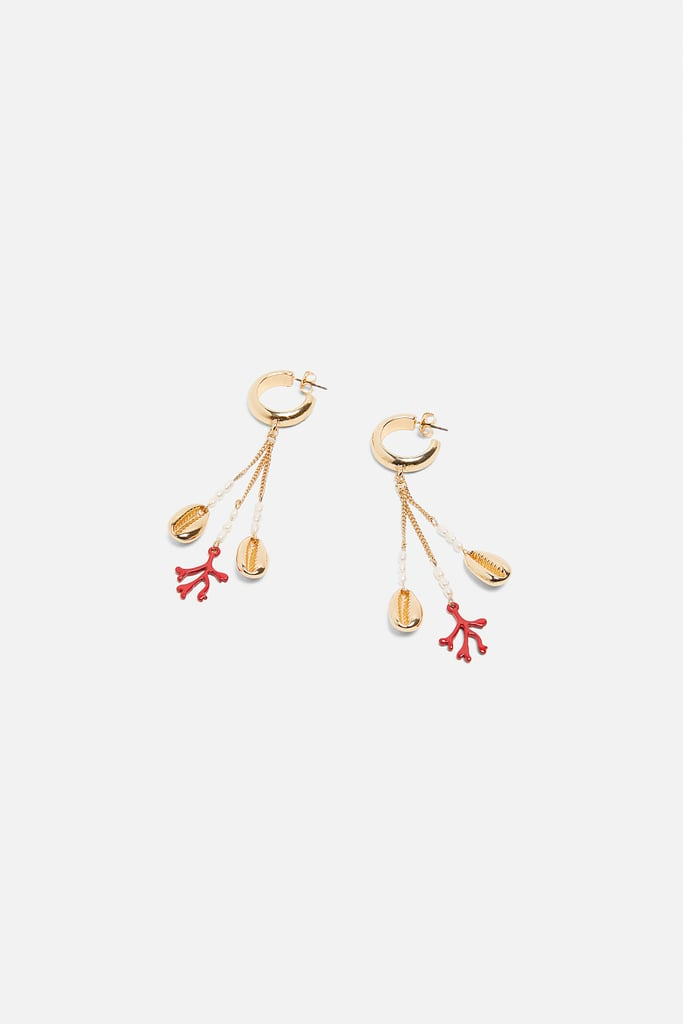 Zara Real Pearl Bead Earrings