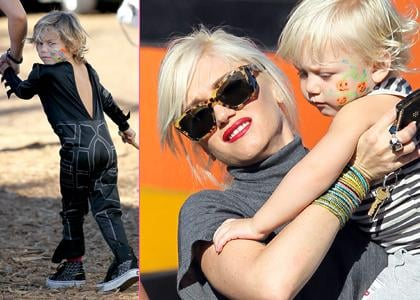 Gwen Stefani Hits Mr Bones pumpkin patch with the Boys in West Hollywood on Tuesday (October 26).