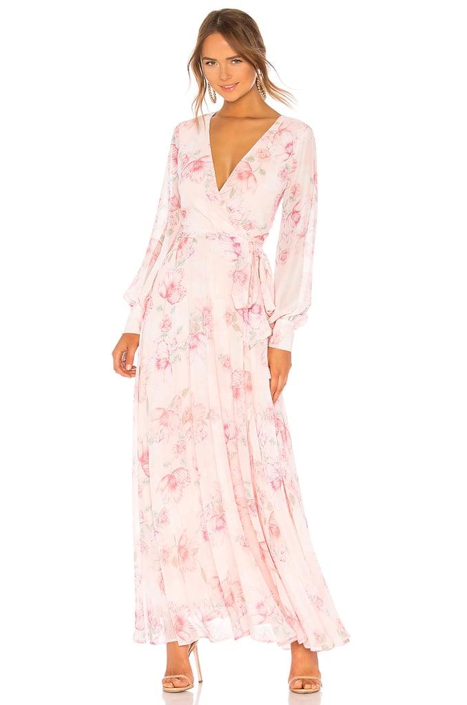 f9b1f8fe8404a Yumi Kim Giselle Maxi Dress | Meghan Markle's Oscar de la Renta Wrap ...