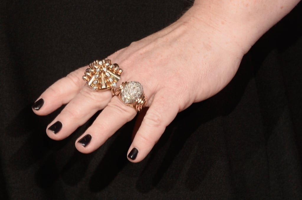 Melissa McCarthy proved two rings are better than one.