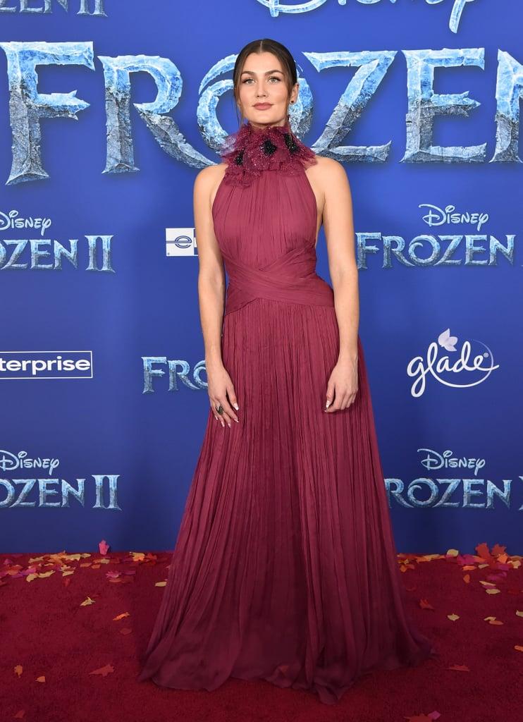 Rachel Matthews at the Frozen 2 Premiere in Los Angeles