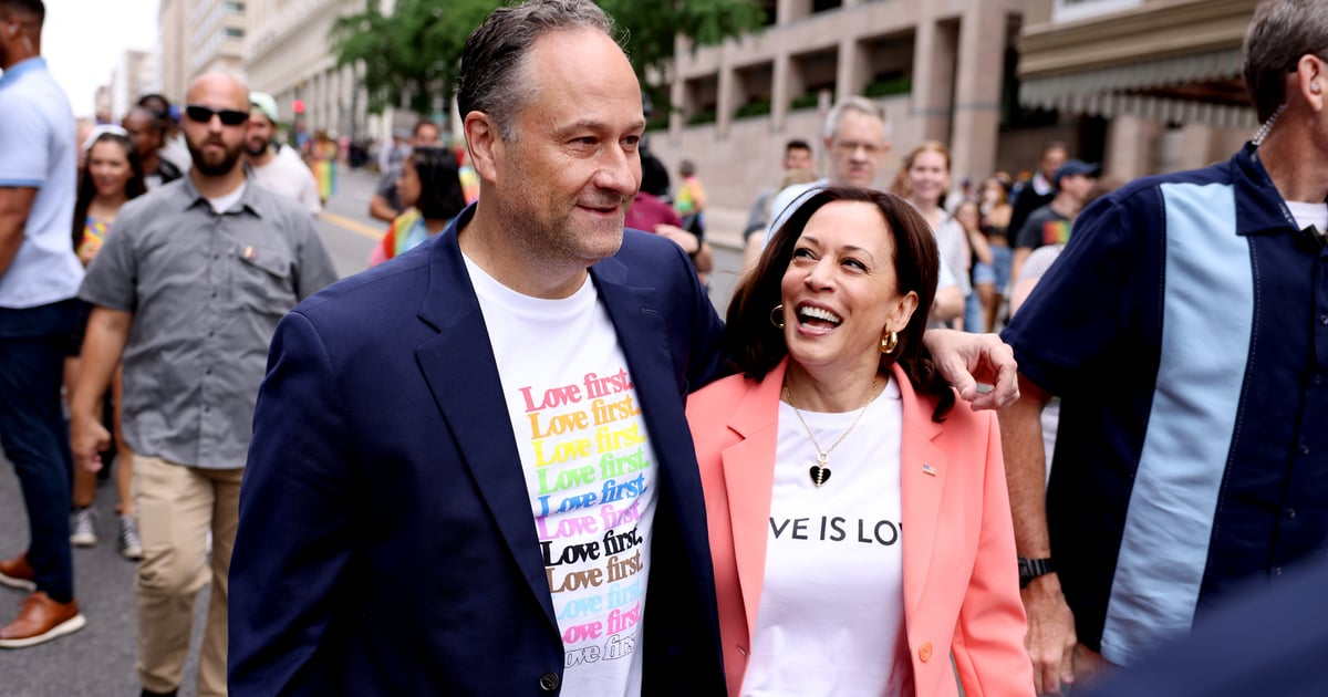 Kamala Harris Sends a Message With Her Outfit as She Makes a Historic Pride Event Appearance