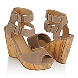 Double Ankle Strap Weges, Forever 21, $25