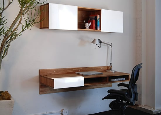 Crave worthy mash studios lax wall mounted desk for Mash studios lax