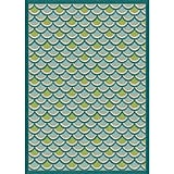 Sublime Light Blue Outdoor Rug