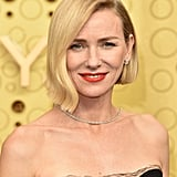 Naomi Watts's Asymmetrical Bob at the Emmys 2019