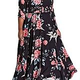 City Chic Romaji Floral Maxi Dress