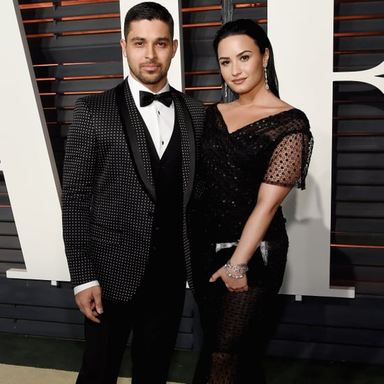 Demi Lovato and Wilmer Valderrama Throwback Pictures