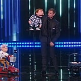 "Paul Zerdin's ""Sam and Grandpa"" Routine"