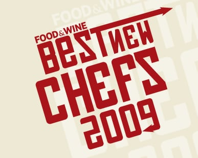 Food & Wine Announces 2009's Best New Chefs