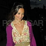 Pippa Middleton Parties With Her Parents at a Special Family Spot