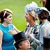 Princess Eugenie and Zara Tindall