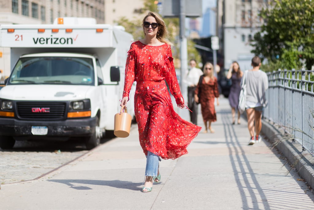 Layer a Summery Frock Over Your Favorite Jeans