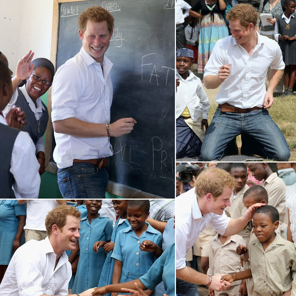 Prince Harry Visits Lesotho, Africa | Pictures