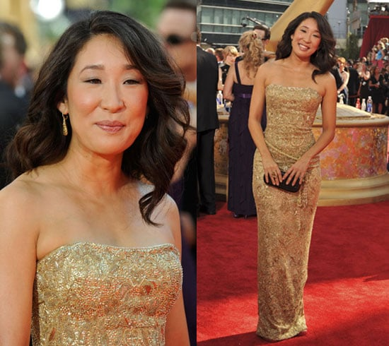 Photo of Sandra Oh at 2009 Primtime Emmy Awards