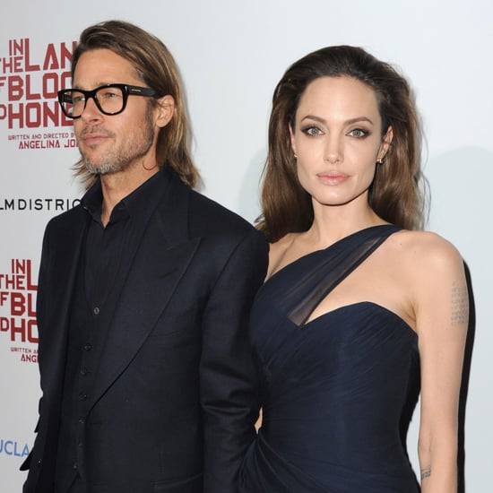 Angelina Jolie and Brad Pitt Pictures at LA Blood and Honey