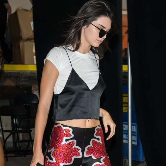 Kendall Jenner Zuhair Murad Trousers at Fashion Week