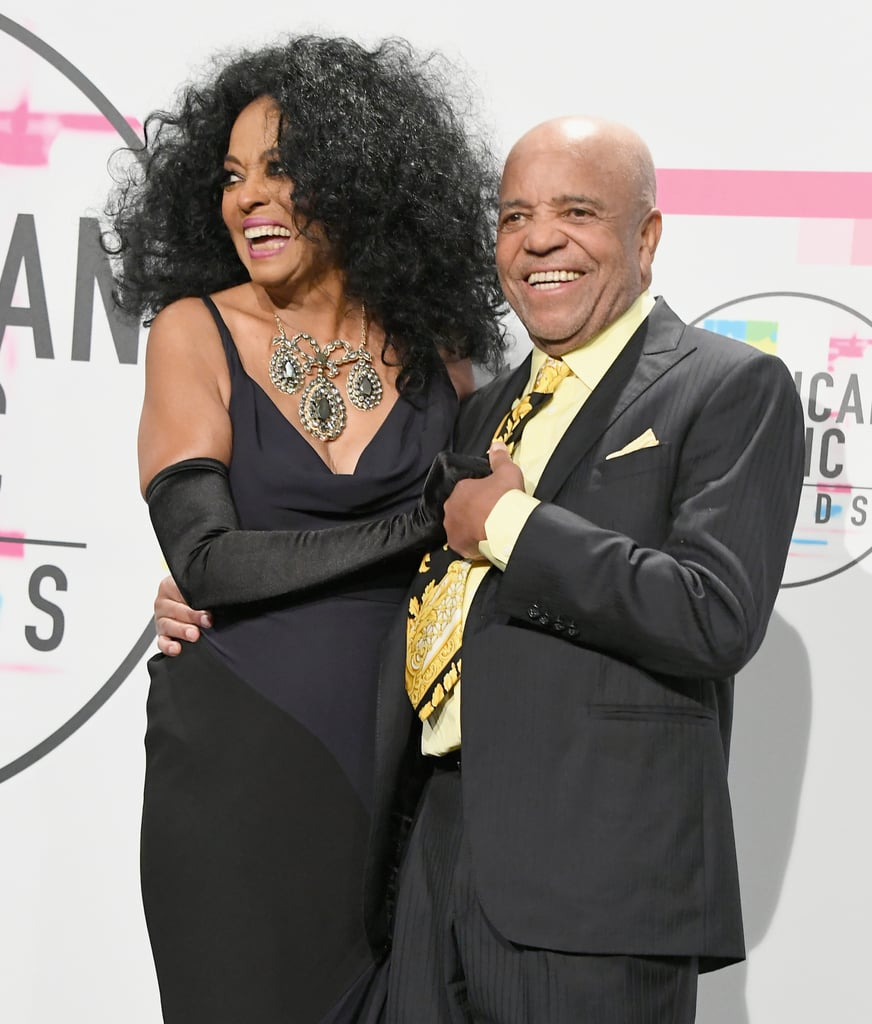 Pictured: Diana Ross and Berry Gordy