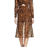 Finders Keepers Lana Snakeskin Print Dress