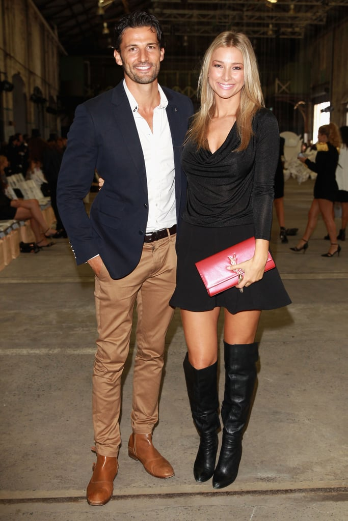 Tim Robards and Anna Heinrich at MBFWA Day Five