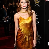 Mischa Barton attended a Hollywood Dominoes event.