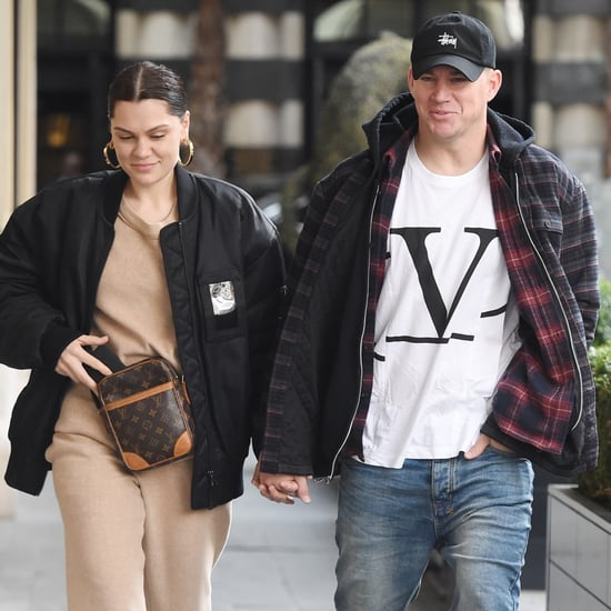 Jessie J and Channing Tatum Holding Hands London March 2019