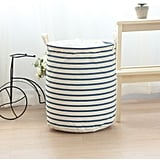 Aobor Cotton Fabric Folding Laundry Storage Basket
